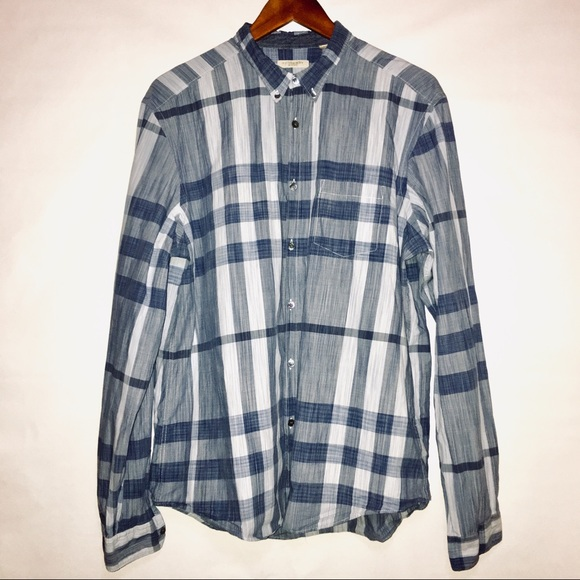 Burberry Other - Burberry Brit Blue Nova Check Shirt